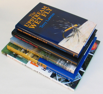 Photograph of 5 books